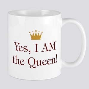 Yes I Am Queen Mug